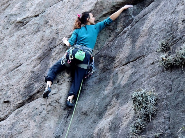 """Angie en """"Gladidores de Los Ochenta"""" - Foto: Fran Verde."""